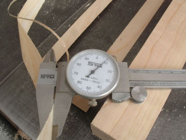 how to make thin wood model
