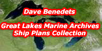Great Lakes marine Archives Ship Plans Collection