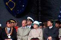 The Queen and His Royal Highness Prince Philip