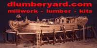 The Lumberyard for Model Shipwrights