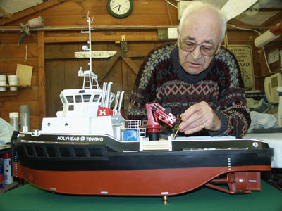 Model Ship Builder - Tom Gorman - Afon Alaw