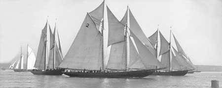 The Schooner Bluenose