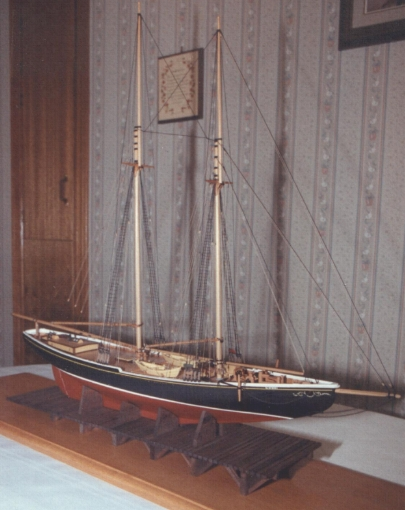 The Schooner Bluenose Model