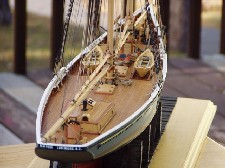 Schooner Bluenose Model - Source: Philip Eisnor - model designer/builder