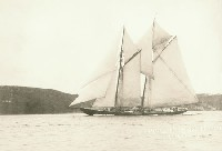 Schooner Columbia - Source: Nova Scotia Archives Online