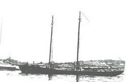 The Schooner Julia A Johnson