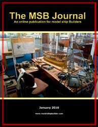 The msb journal 2010 model ship builder the msb journal january 2010 publicscrutiny Image collections